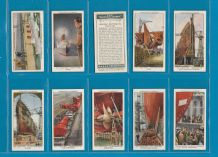 Tobacco cigarette cards The Queen Mary 1936 by Churchman